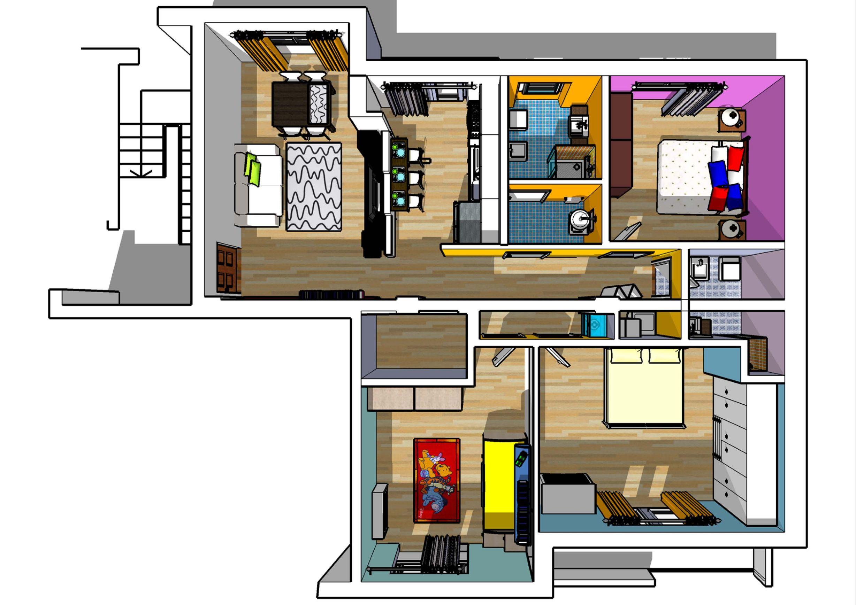 progetti architettura interni qn62 regardsdefemmes